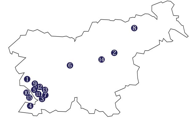Vilenica2014-lokacije